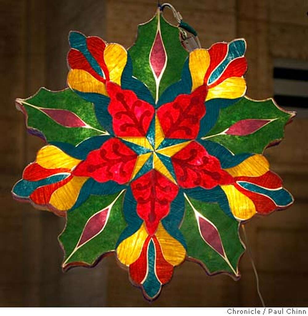 Filipino parol for sale in america - A Professionally Made Parol Was Illuminated At A Workshop On How To Make The Traditional Filipino