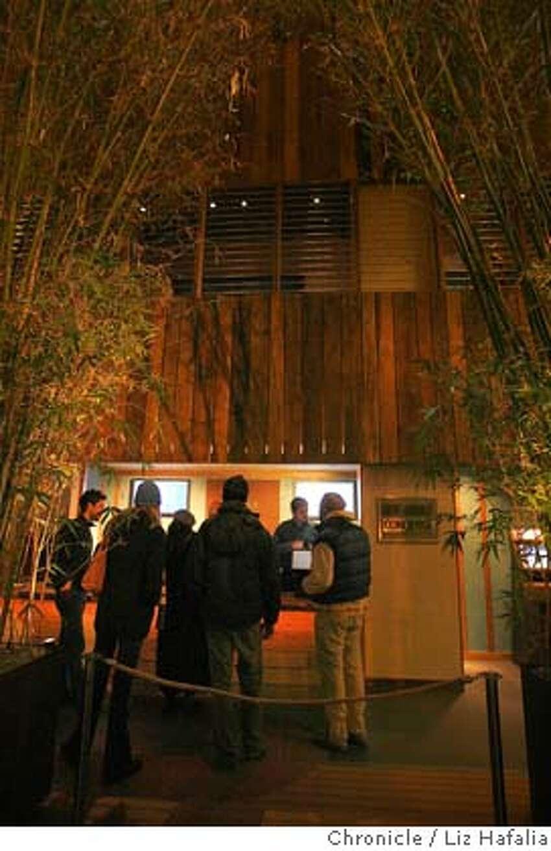 SUNDANCE12_069_LH.JPG Lobby ticketing area of Sundance Cinemas. The Sundance cinemas is having its grand opening December 14th at its newly refurbished Kabuki theater. Liz Hafalia/The Chronicle/San Francisco/12/8/07 ** cq