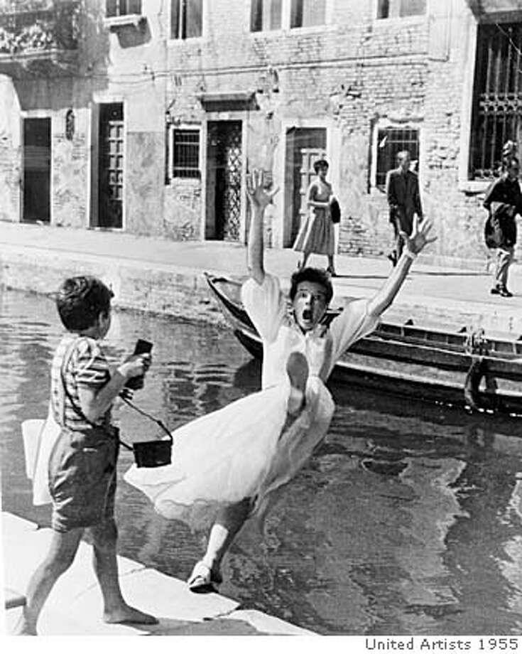 """Katherine Hepburn in """"Summertiime"""" (1955). Photo: United Artists 1955"""