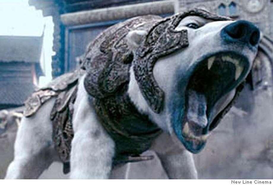 "The polar bear in ""The Golden Compass"" 2007 Photo: New Line Cinema"