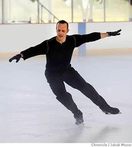 .JPG Brian Boitano practices at the Yerba Buena Ice Rink on Friday November 9, 2007. Boitano will be performing in an ice show that will feature Barry Manilow singing live at the Giant's ballpark in San Francisco on December 5. Event on 11/9/07 in San Francisco. Jakub Mosur / The Chronicle MANDATORY CREDIT FOR PHOTOG AND SF CHRONICLE/NO SALES-MAGS OUT Photo: Jakub Mosur