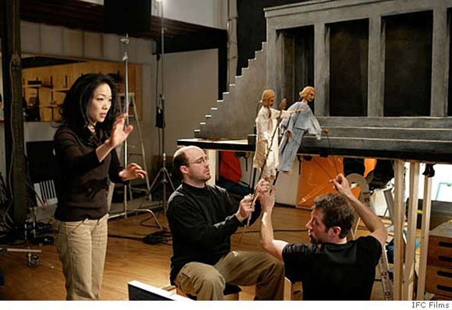 """Jessica Yu directs """"Protagonist,"""" about extreme obsession. It features a Greek chorus of wooden puppets. Photo: IFC Films"""