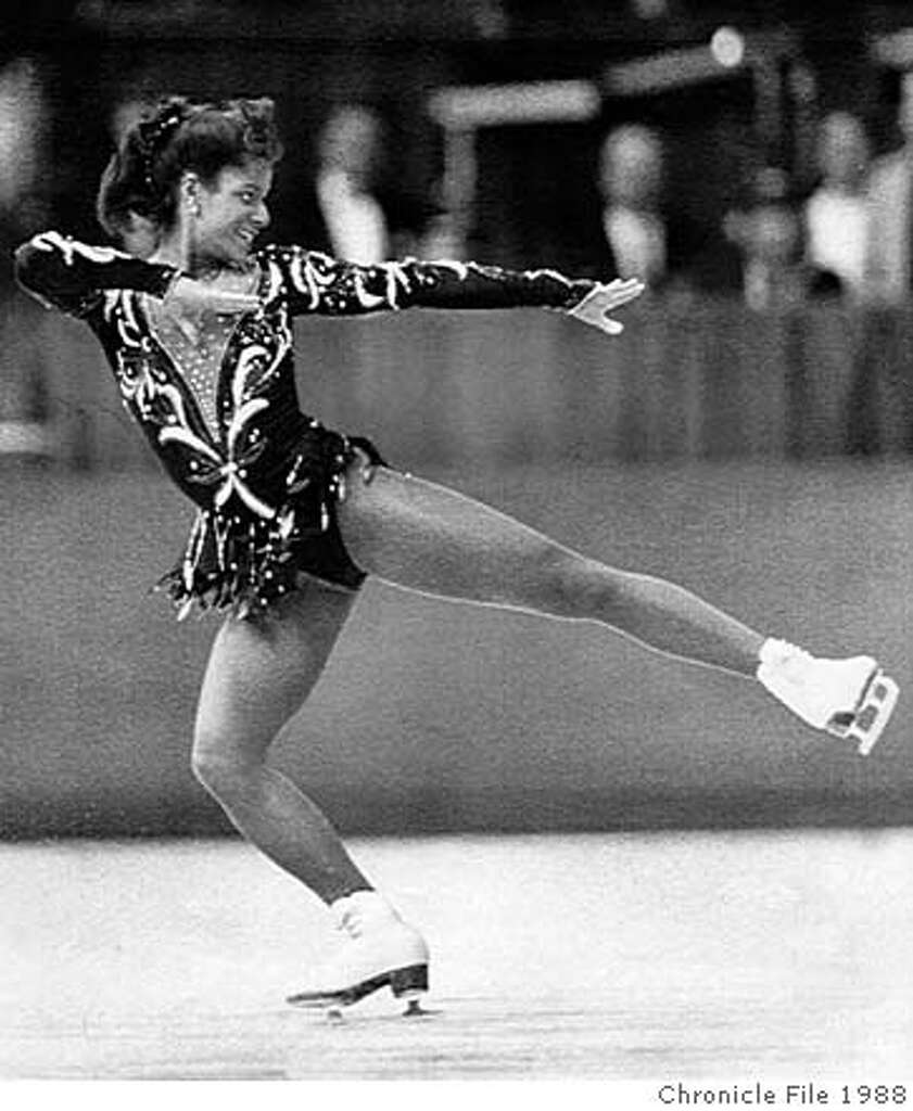 Image result for debi thomas 1988 olympics