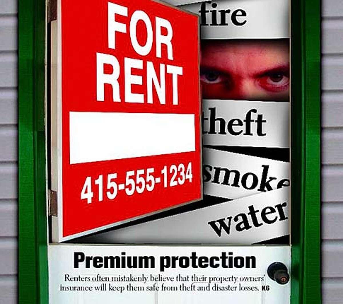 Renter's insurance. Chronicle illustration