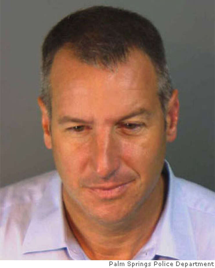 Gary Cloutier, Vallejo's vice mayor, was arrested early Sunday on suspicion of public intoxication. Photo courtesy of the Palm Springs Police Department Photo: MitchS