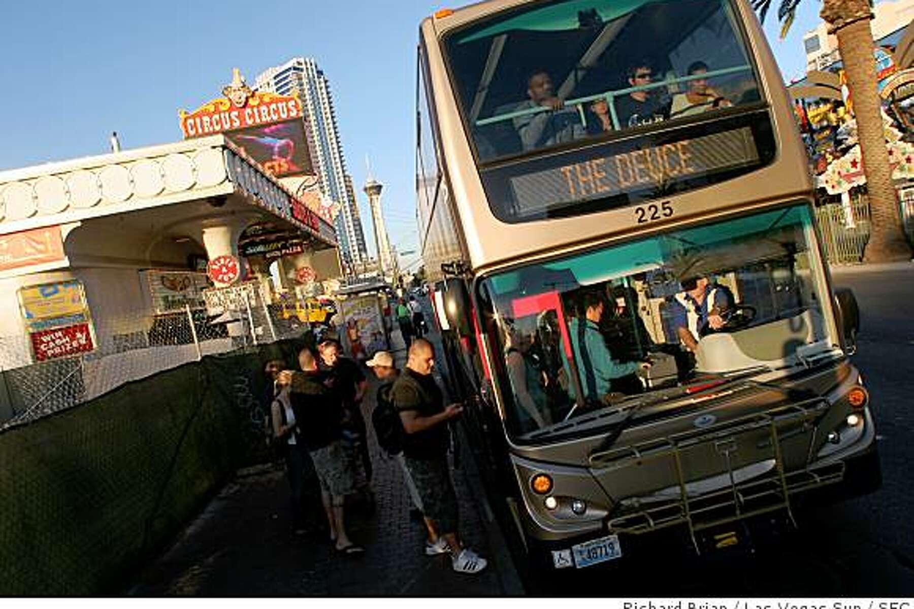 Double Decker Transit Buses