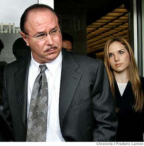 BALCO_0016a_fl.jpg Victor Conte left with his daughter Veronica Ekhardt and his attorneys from the San Francisco Federal Court house after being sentenced to eight months Tuesday as part of a plea deal for his role as mastermind behind a scheme to provide professional athletes with undetectable performance-enhancing drugs. Conte, who will spend four months in prison and four months in home confinement, started the Bay Area Laboratory Co-Operative, which, according to court records, counted dozens of prominent athletes among its clients, including Barry Bonds, Jason Giambi, Marion Jones and others. The case prompted pro sports to stiffen steroid policies and thrust performance-enhancing drugs into the spotlight. THG, a once-unknown steroid discovered in the investigation, is now banned throughout sports. Conte pleaded guilty in July to money laundering and a steroid distribution charge; dozens of counts were dropped.  10/18/05 San Francisco CA Frederic Larson The San Francisco Chronicle Ran on: 10-19-2005  Victor Conte(left,) founder of Burlingame's BALCO lab, leaves the San Francisco federal courthouse with his daughter Veronica Ekhardt after being sentenced. Ran on: 10-19-2005  BALCO founder Victor Conte leaves San Francisco's federal courthouse with his daughter Veronica Ekhardt after being sentenced to four months in prison and four months' home confinement. Ran on: 10-19-2005  BALCO founder Victor Conte leaves San Francisco's federal courthouse with his daughter Veronica Ekhardt after being sentenced to four months in prison and four months' home confinement.Ran on: 02-07-2006  Victor Conte  Ran on: 06-23-2006  Victor Conte exchanged e-mails with a Chronicle reporter about secret grand jury proceedings, a court filing says.  Ran on: 06-23-2006  Victor Conte exchanged e-mails with a Chronicle reporter about secret grand jury proceedings, a court filing says.  Ran on: 06-23-2006 Photo: Frederic Larson