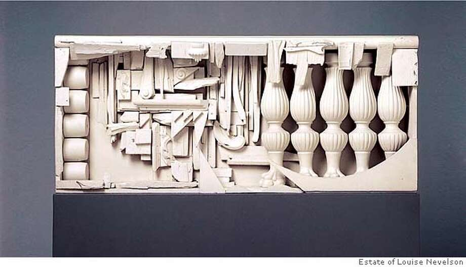 Fabuleux Review: Louise Nevelson's found at the de Young - SFGate QV87