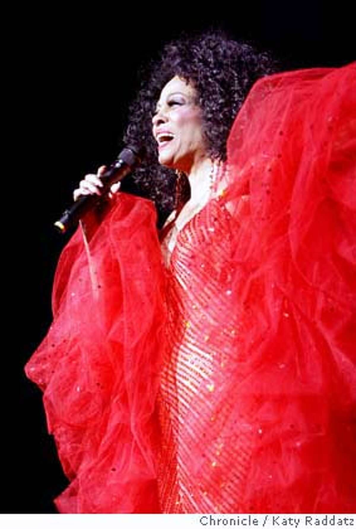 ROSS06 Diana Ross in concert at the Paramount Theater in Oakland, CA. These pictures were made on Sunday Nov. 4, 2007, in Oakland, CA. KATY RADDATZ/The Chronicle Photo taken on 11/4/07, in Oakland, CA, USA