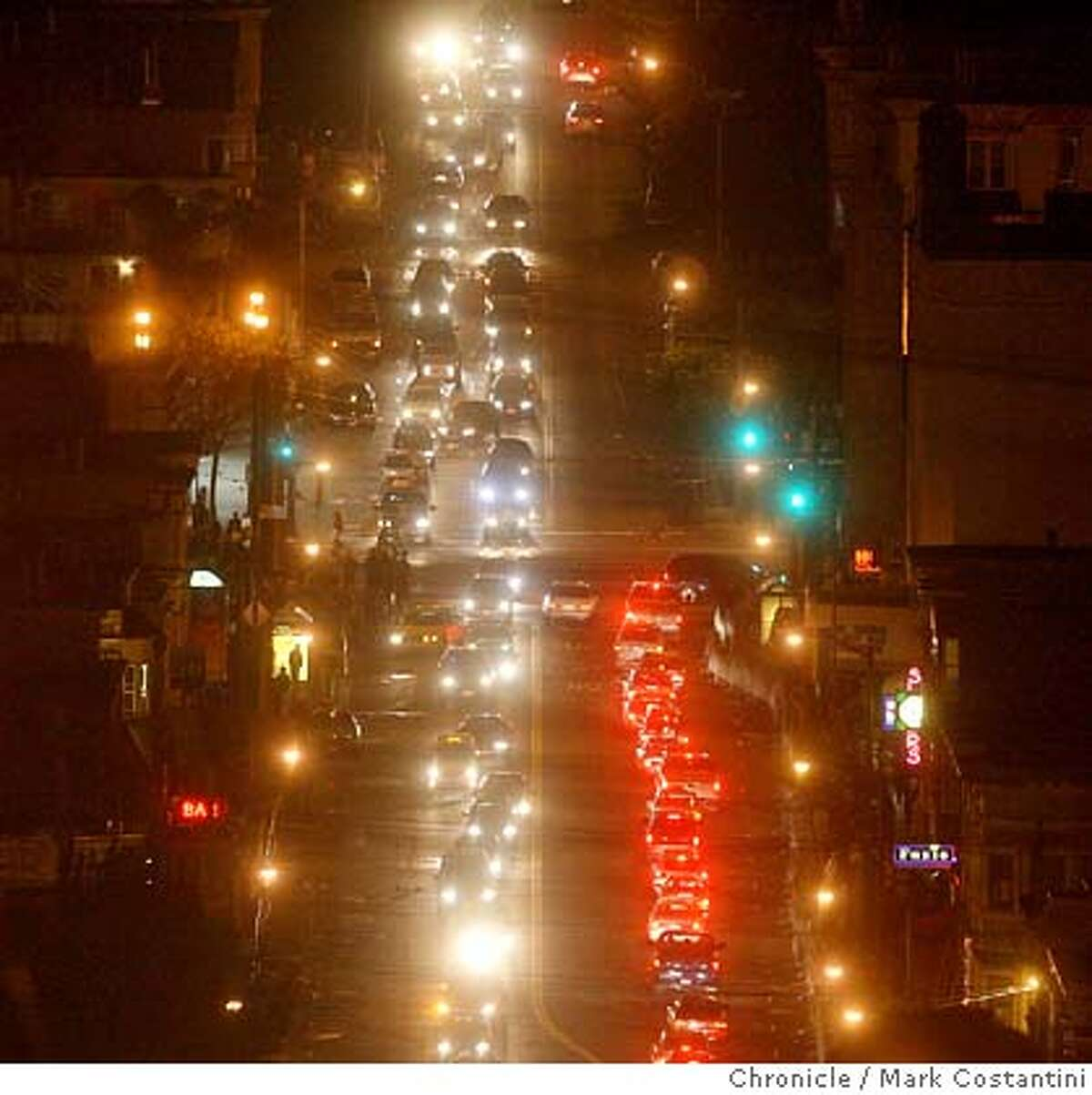 Overview of Castro Street on Halloween night. Mark Costantini / The Chronicle Photo taken on 11/1/07, in San Francisco, CA, USA MANDATORY CREDIT FOR PHOTOG AND SAN FRANCISCO CHRONICLE/NO SALES-MAGS OUT