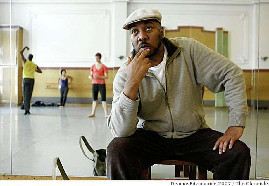 Alonzo King, director of  Alonzo King's Lines Ballet Photo: Deanne Fitzmaurice 2007, The Chronicle