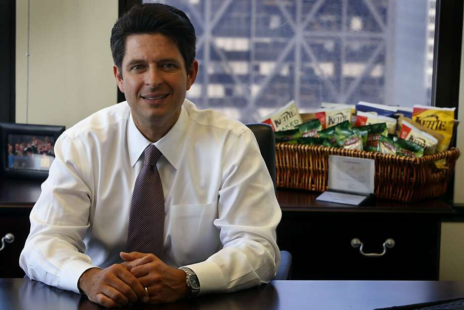 Michael Mendes, CEO of Diamond Foods, is seen at corporate headquarters in San Francisco, Calif., on Wednesday, July 7, 2010. Diamond owns snack food brands such as Emerald nuts, Kettle potato chips and Pop Secret popcorn. Photo: Paul Chinn, The Chronicle
