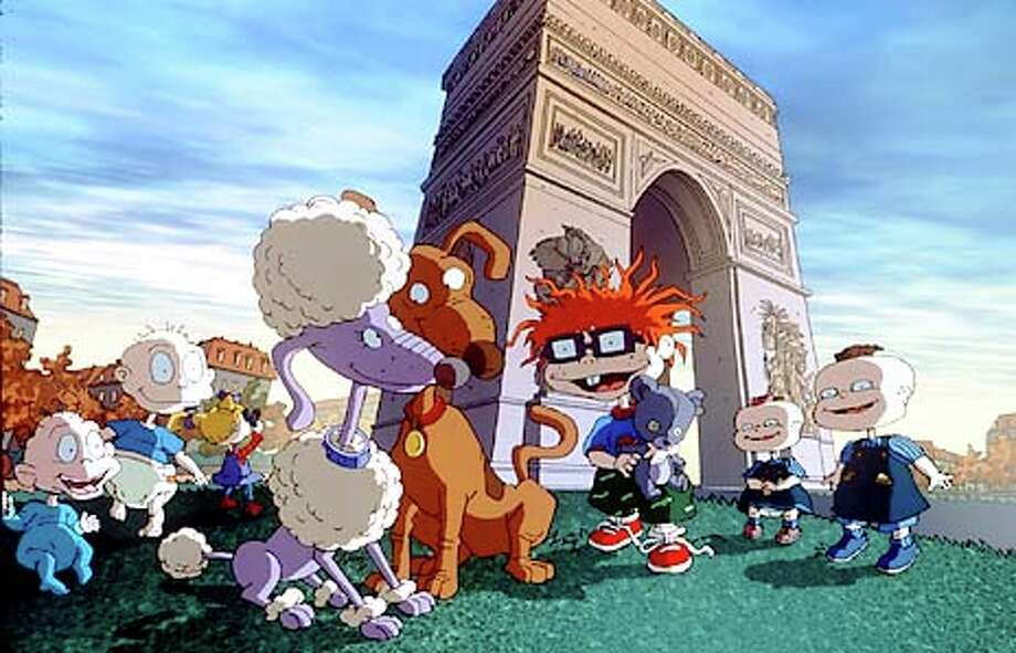 Rugrats In Paris Coco The whole Rugrats gang takes
