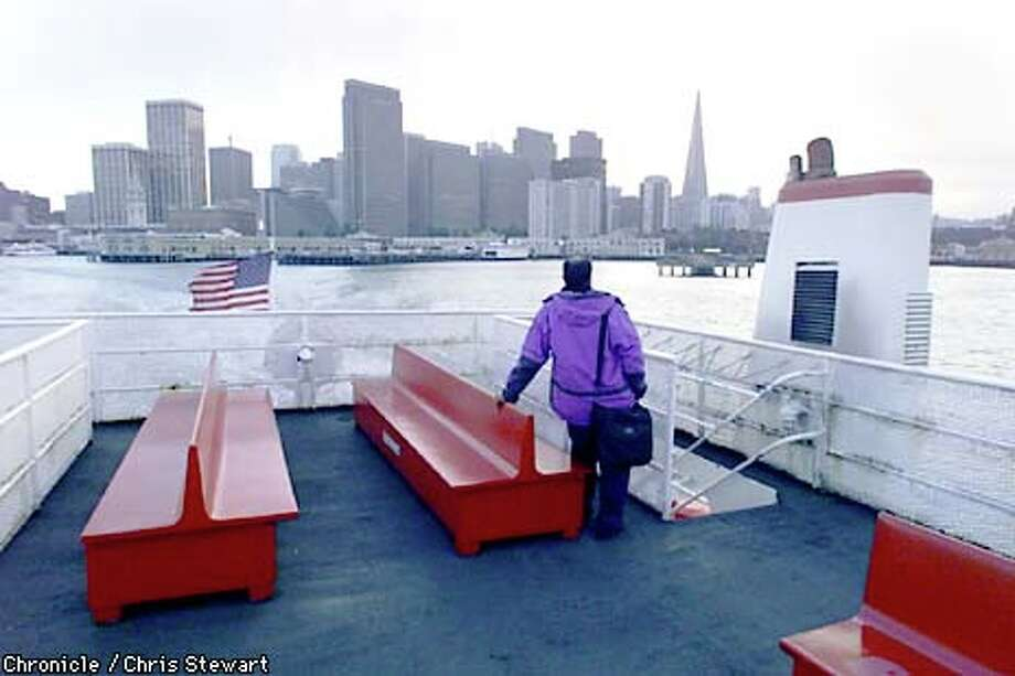 The Richmond-San Francisco Ferry has made its last run. Chronicle file photo by Chris Stewart / CHRONICLE