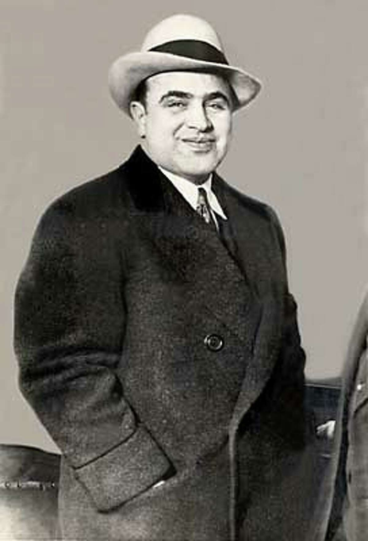 Al Capone is credited by a London tabloid with saving the Welsh rose.
