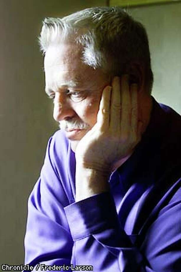 "After going through a tough breakup, Armistead Maupin was finally motivated to finish his new novel, ""The Night Listener,"" a story of a writer who makes friends with an abused boy. Chronicle photo  by Frederic Larson"