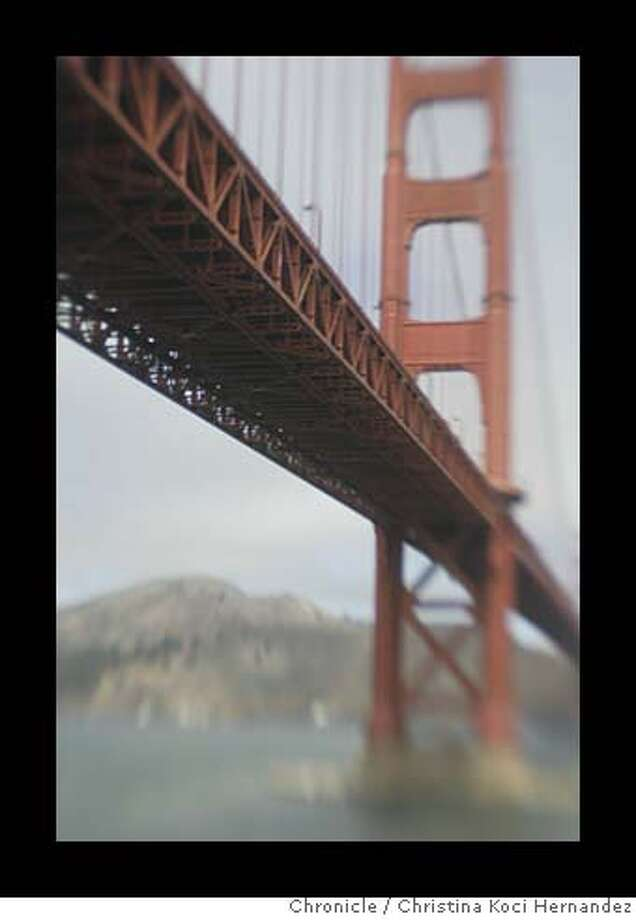 "CHRISTINA KOCI HERNANDEZ/CHRONICLE  Photos of the Golden gate Bridge. Story on GG Bridge suicides for story, ""Lethal Beauty."" Photo: CHRISTINA KOCI HERNANDEZ"