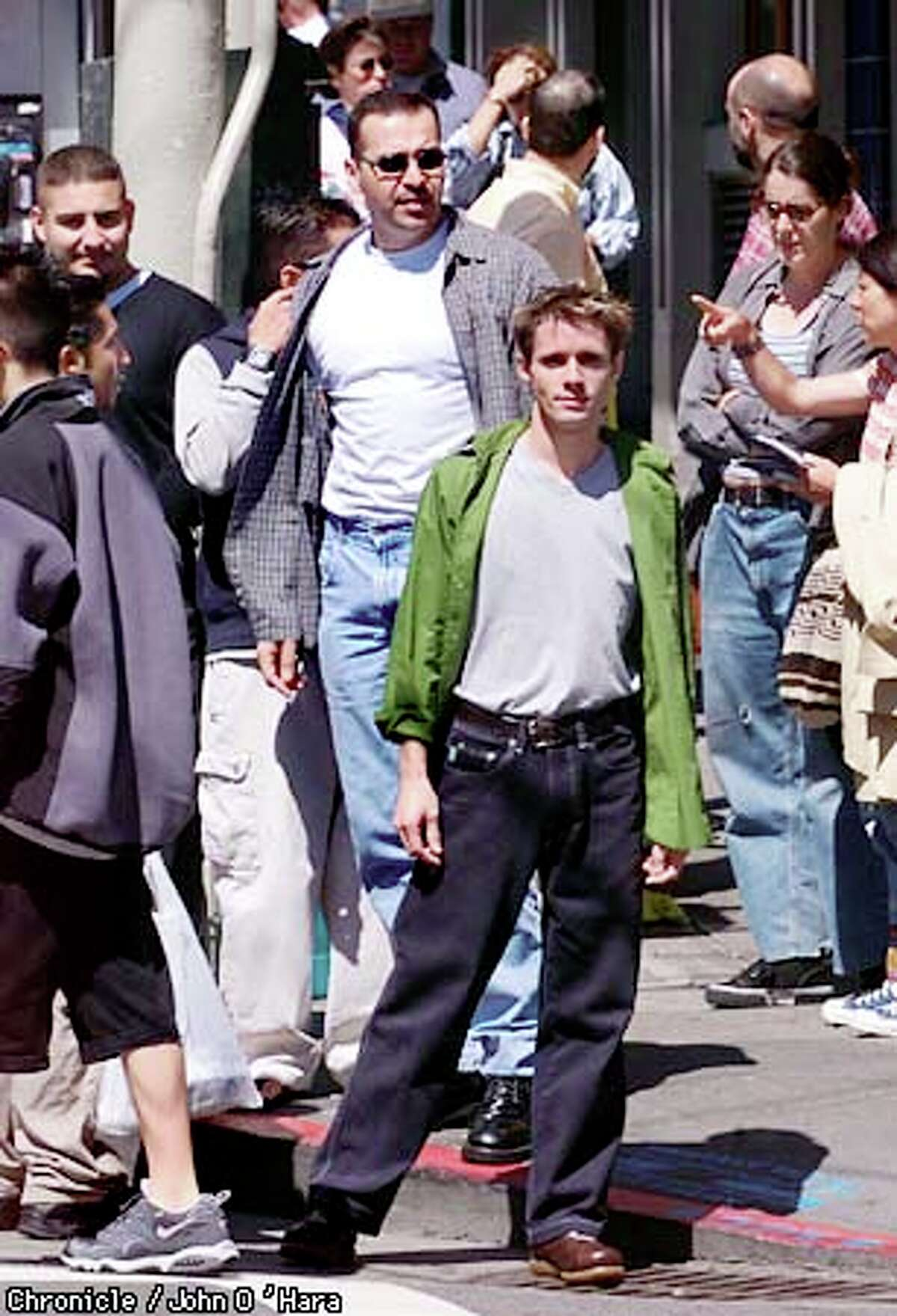 """Danny Pintauro, who played Jonathan on """"Who's the Boss?,"""" is still waiting to discover his passion. Chronicle photo by John O'Hara"""