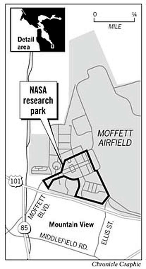 NASA Research Park. Chronicle Graphic