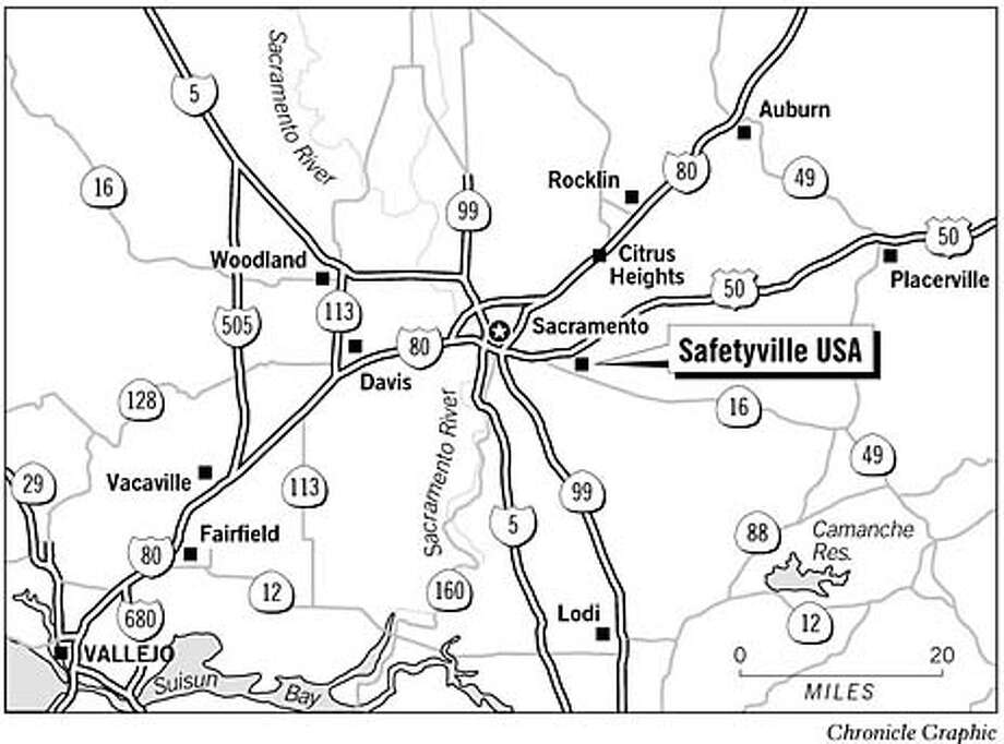 Safetyville USA. Chronicle graphic