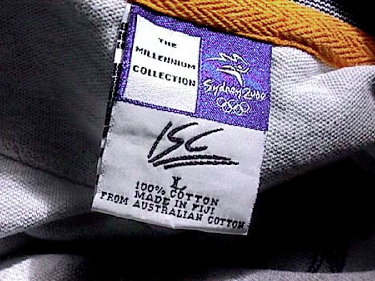 Officially licensed Olympic items were made with DNA-laced ink in their tags.