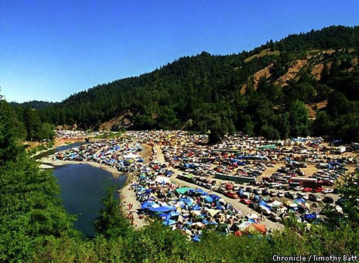 Thousands of campers and day-trippers lined Humboldt County's Eel River during Reggae on the River, braving 100-degree heat to attend the music festival. Click through the gallery for a look at Outside Lands fashion.