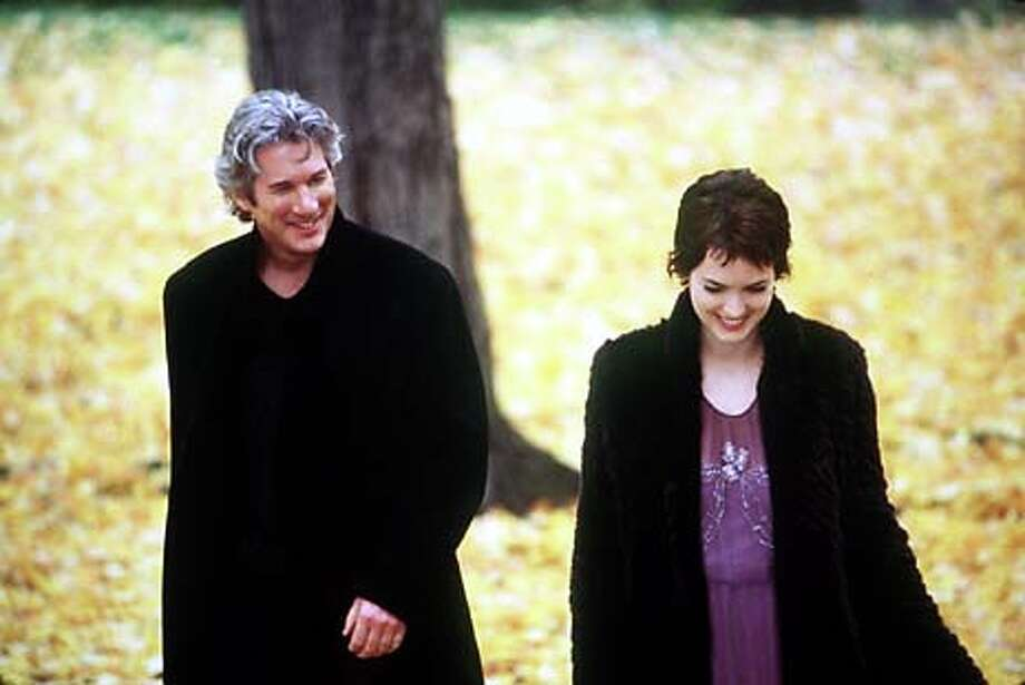 "Richard Gere and Winona Ryder in ""Autumn in New York."" Publicity Photo"