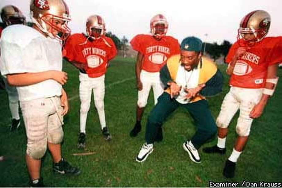 Teach pee wee football