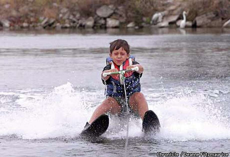 Kids Water Skis >> Water Skiing Kids Make Waves At Aquatic Park In Berkeley Sfgate