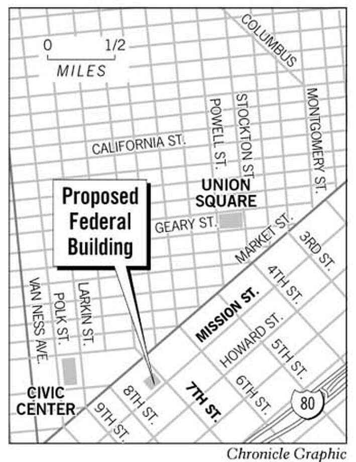 Planned S F Federal Building May Get A Street Of Its Own