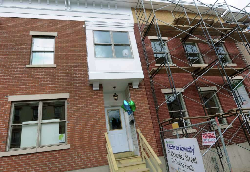 Angela Tinglings New Home On Alexander Street Left Next To Others Still Under Construction