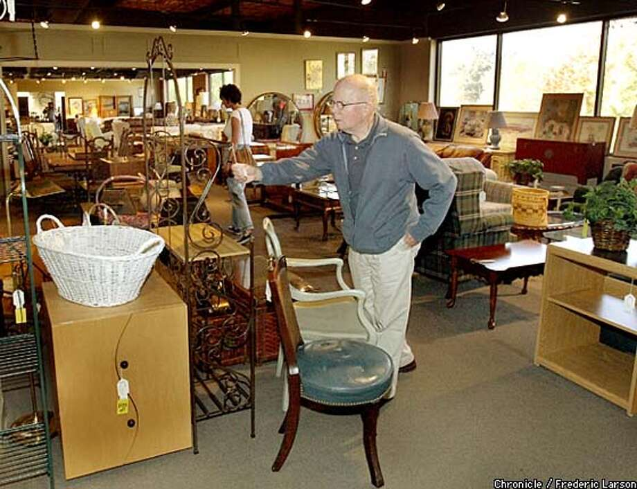 Jerry Farrell Shops At The Consignment Store In Walnut Creek, A Large Store  Where He