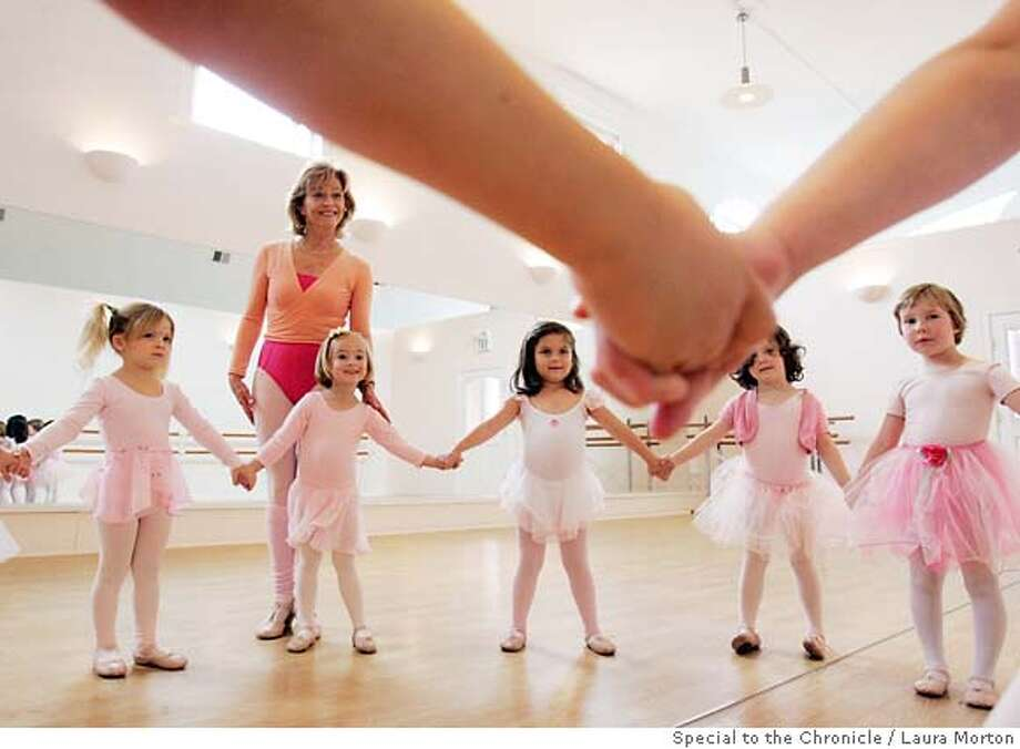 Tilly Abbe teaches at her studio Ballet with Miss Tilly where she specializes in teaching young girls. Photo: Laura Morton