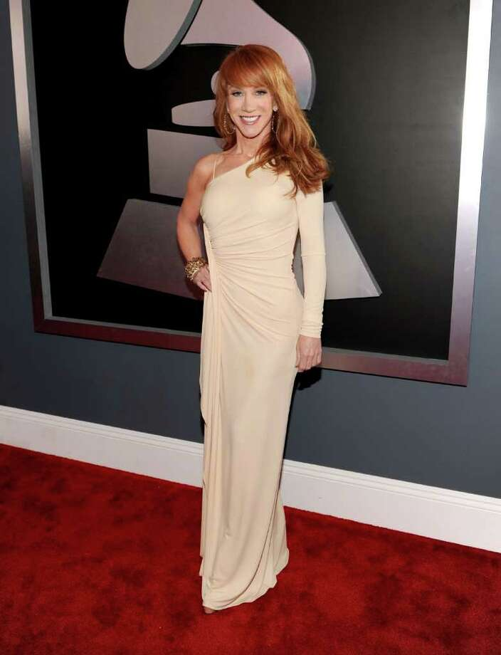 Comedian Kathy Griffin arrives at the 54th Annual GRAMMY Awards held at Staples Center on February 12, 2012 in Los Angeles, California. Photo: Larry Busacca, Getty Images For The Recording A / 2012 Getty Images