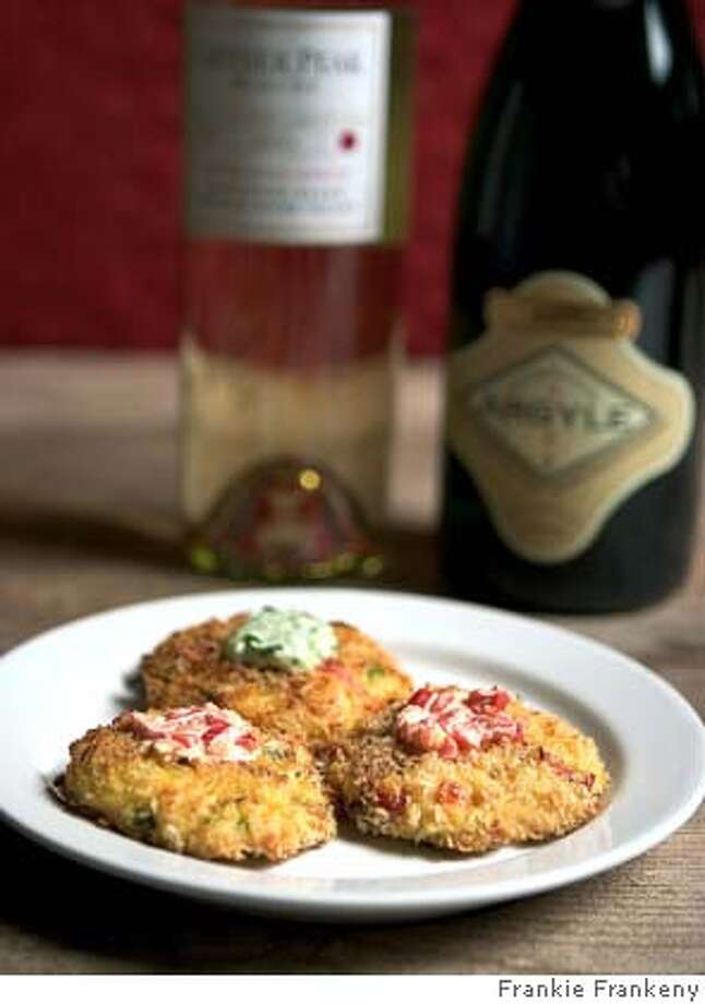 Crab Cakes & Aioli Duo. Photo by Frankie Frankeny / styling by C. Gleaver