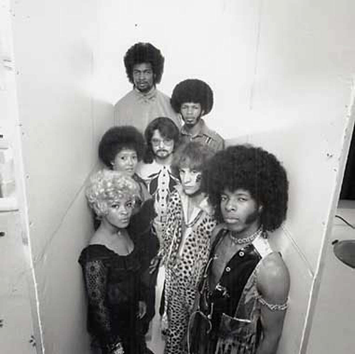 Number 1: Sly and the Family Stone: They changed the way music was played. Photo from Joel Selvin Collection