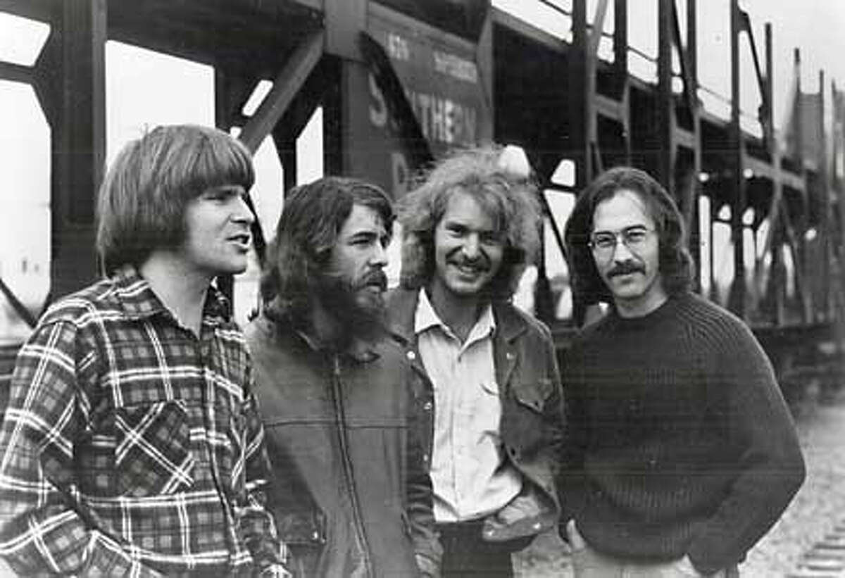 Number 2: Creedence Clearwater Revival: Dismissed as a Top 40 band, the group had the last laugh. Photo from Joel Selvin Collection