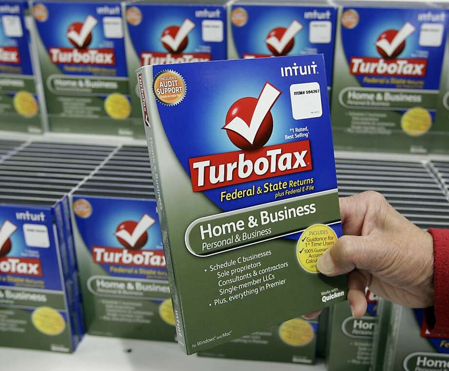 Instead of buying software, customers now can fill out forms at turbotax.com and pay when they file. Photo: Paul Sakuma, Associated Press