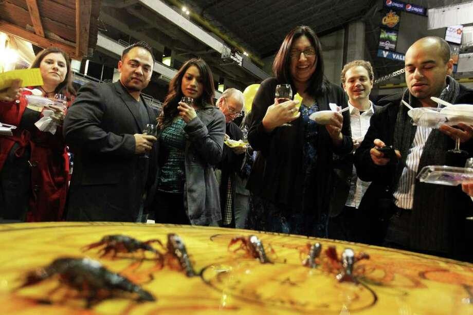 Event offers fine wines cuisine san antonio express news for Acadiana cafe cajun cuisine san antonio tx