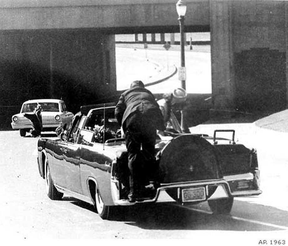 12:30 p.m., November 22, 1963: Moments later, shots ring out and President John F. Kennedy is killed nearly instantly.
