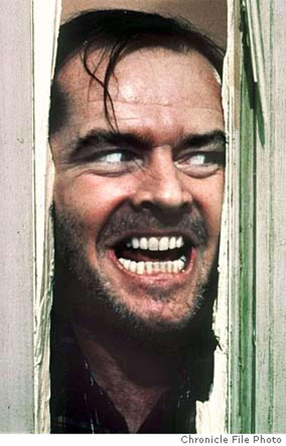 FILE--Actor Jack Nicholson, portraying