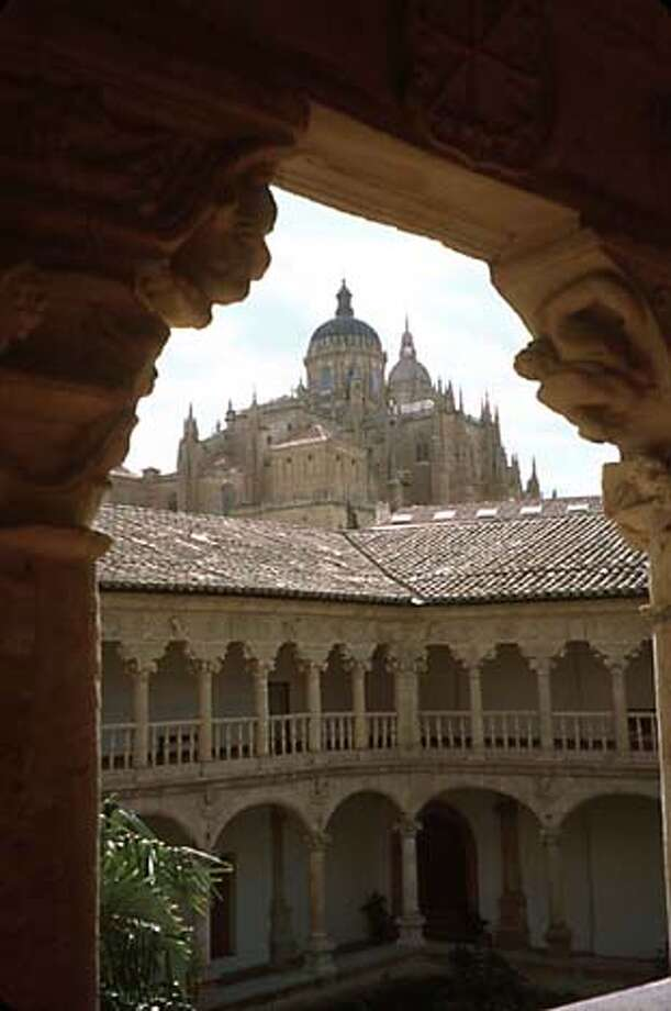 Salamanca, SpainThe arches surrounding the courtyard at the Convento de las Duenas in Salamanca offer an iconic view of Spain. Photo by Mona Molarsky, special to the Chronicle