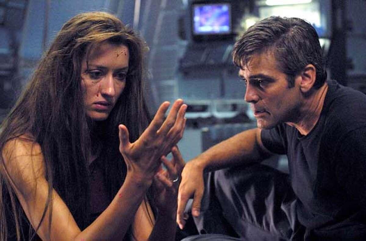 George Clooney and Natascha McElhone in