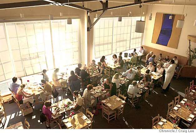 Photo of the interior of Greens restaurant at Fort Mason. For a story to go with quintessential and unique restaurants.  Event on 6/26/03 in San Francisco. CRAIG LEE / The Chronicle Photo: CRAIG LEE