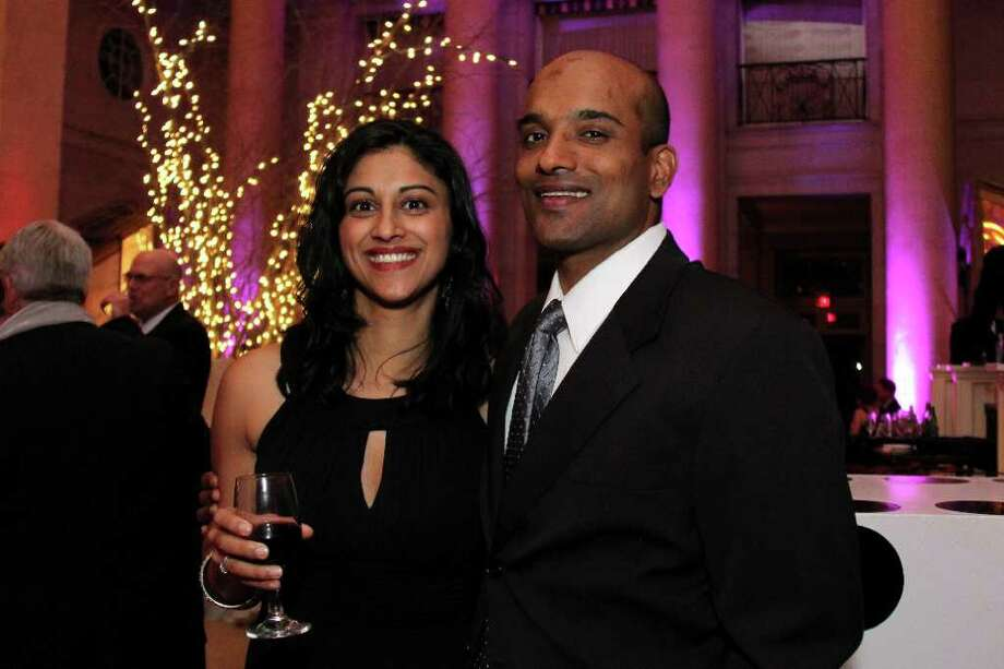 Were You Seen at the Down Syndrome Aim High Resource Center's Champagne & Roses Gala at the Hall of Springs on Saturday, February 11, 2012? Photo: Brian Tromans