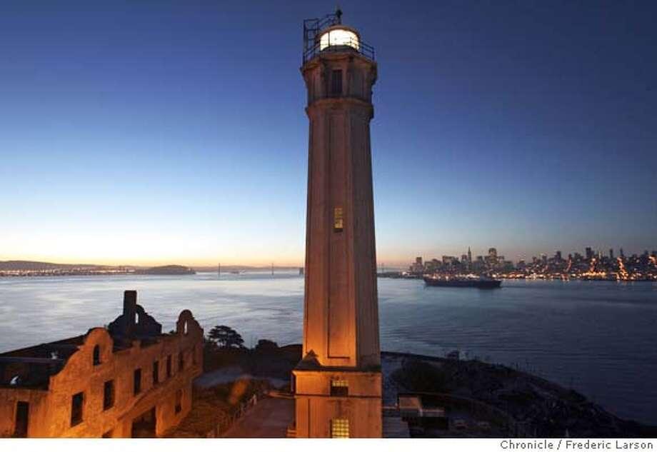 ALCATRAZ_0420_fl.jpg A overnight pictorial on Alcatraz along with 30 photographers of Media Alliance Bay Area. 10/16/05 San Francisco CA Frederic Larson The San Francisco Chronicle Photo: Frederic Larson