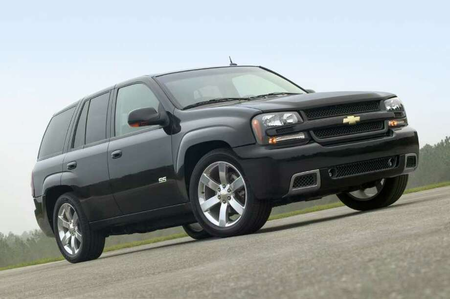 The 2006 Chevy TrailBlazer was a top seller. The National Highway Traffic Safety Administration has received 12 complaints of smoke or fires in TrailBlazers. Photo: Anonymous / AP2005