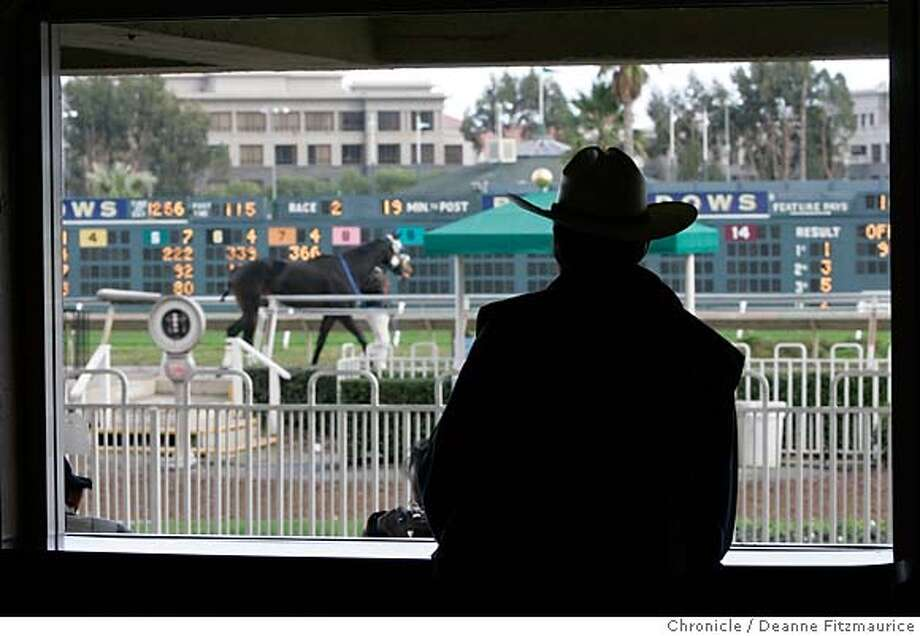 baymeadows_088_df.JPG  Bay Meadows Racetrack in San Mateo will be closed and torn down to make way for new development.  Event in San Mateo on 12/28/05.  Deanne Fitzmaurice / The Chronicle Photo: Deanne Fitzmaurice