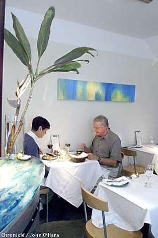ISA, 3324 Steiner St. A resturant.  Luke Sung, Chef/owner, interior view  photo/John O'Hara Photo: JOHN O'HARA