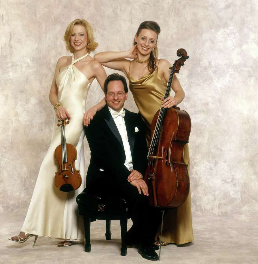 Trio Solisti performed in Newtown Sunday, Feb. 12, at Edmond Town Hall. Photo: Contributed Photo